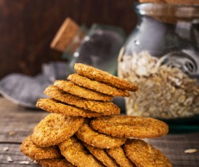 Nuts cookies Stock Photo 03