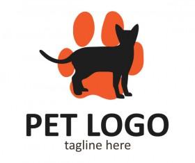 Pet logo creative design vector 12