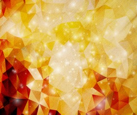 Polygon geometric shape abstract background vector 01