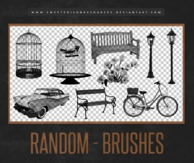 Retro Photoshop Brushes