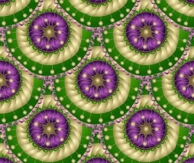 Retro floral decorative pattern seamless vector 02