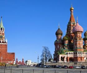 Russia Ivan clock tower Stock Photo 01