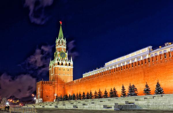 Russia Ivan clock tower Stock Photo 02