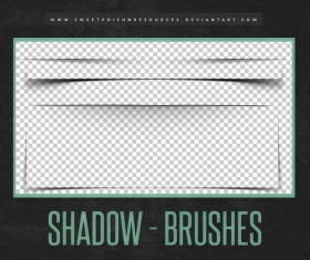 Shadow Photoshop Brushes
