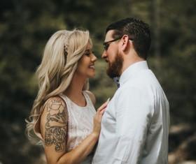 Stylish couple Stock Photo