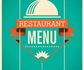 Vintage restaurant menu template vector 02