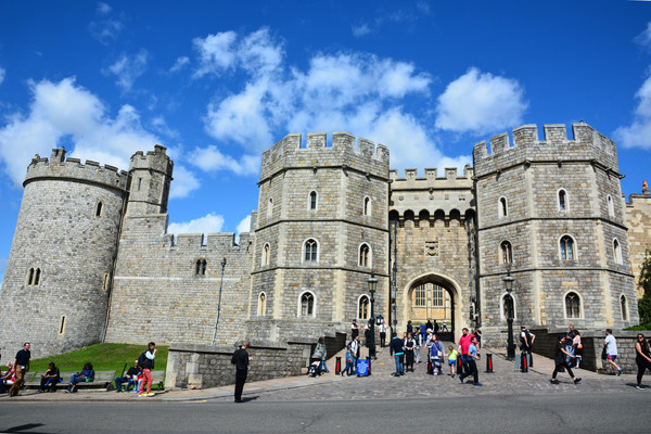 Windsor Castle England Stock Photo