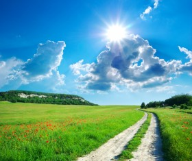 most beautiful scenery of nature Stock Photo 01