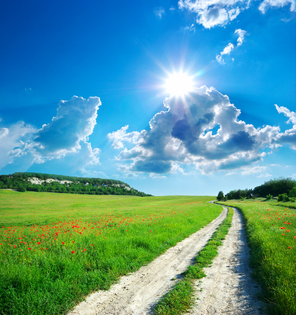 Most Beautiful Scenery Of Nature Stock Photo 01 Free Download
