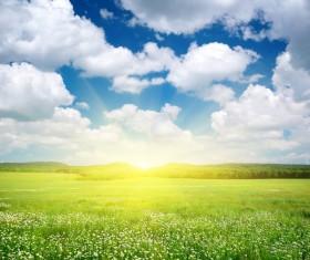 most beautiful scenery of nature Stock Photo 02