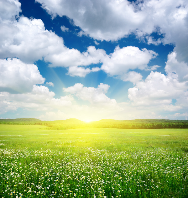 Most Beautiful Scenery Of Nature Stock Photo 02 Free Download
