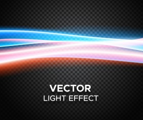 Abstract transparent light effect background illustration vector 02