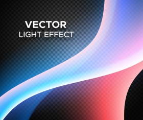 Abstract transparent light effect background illustration vector 04