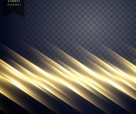 Abstract transparent light effect illustration vector 01