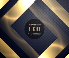 Abstract transparent light effect illustration vector 02