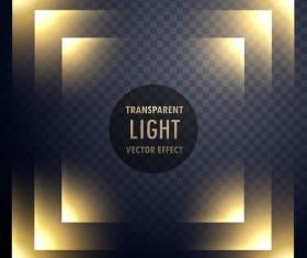 Abstract transparent light effect illustration vector 03