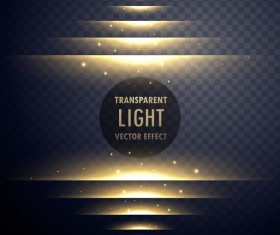 Abstract transparent light effect illustration vector 04