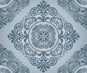 Baroque ornament pattern seamless vector vintage design 01