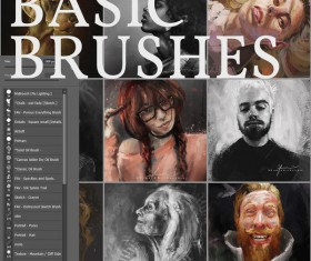 Basic Photoshop Brushes Set