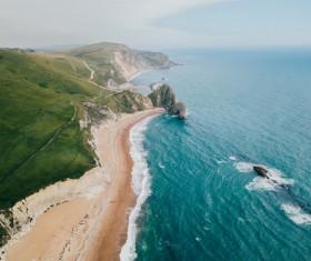 Beautiful coastline landscape Stock Photo