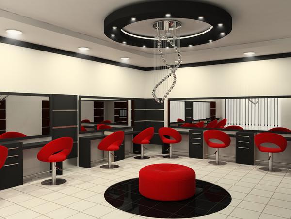 Beauty Salon Interior Stock Photo 05