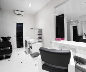 Beauty salon interior Stock Photo 06