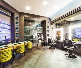Beauty salon interior Stock Photo 07