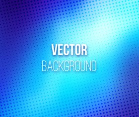 Blue gradient blurred background vector