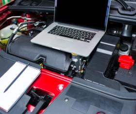 Car engine maintenance Stock Photo 04
