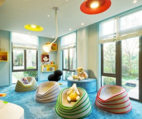 Teens Stock PhotoChildrens room furnishing and toys Stock Photo 01