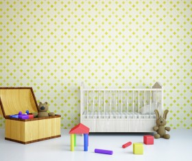 Childrens room furnishing and toys Stock Photo 03
