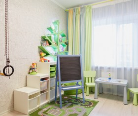 Childrens room furnishing and toys Stock Photo 05
