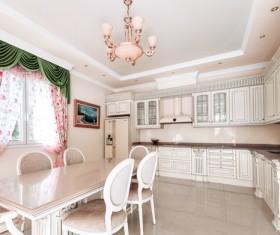 Classic open kitchen Stock Photo 01