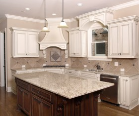 Classical Open kitchen Stock Photo 02