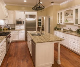 Classical Open kitchen Stock Photo 05
