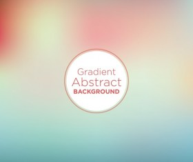 Colored gradient abstract background vectors 02