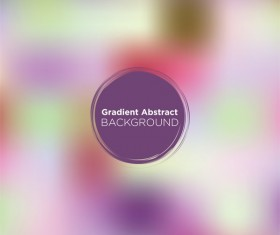 Colored gradient abstract background vectors 03