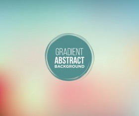 Colored gradient abstract background vectors 04