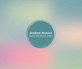 Colored gradient abstract background vectors 09