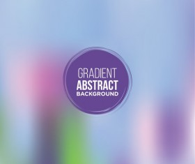 Colored gradient abstract background vectors 10