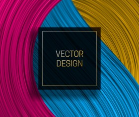 Concept abstract colorful background vectors 03