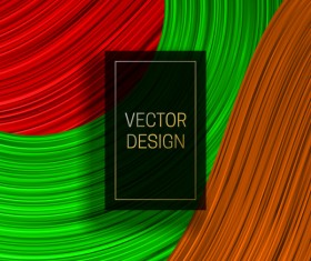 Concept abstract colorful background vectors 04
