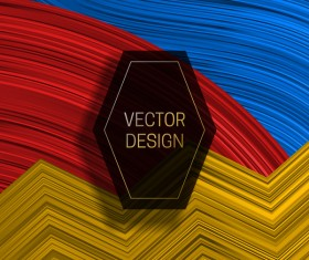 Concept abstract colorful background vectors 05