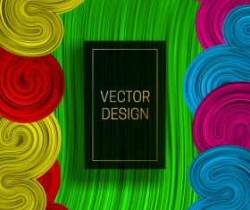 Concept abstract colorful background vectors 09