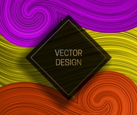 Concept abstract colorful background vectors 10