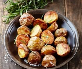 Delicious Baked potato Stock Photo 01