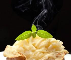 Delicious Baked potato Stock Photo 02