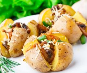 Delicious Baked potato Stock Photo 03