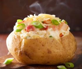 Delicious Baked potato Stock Photo 05