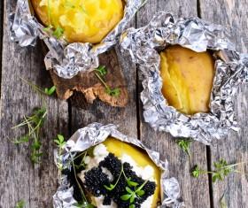 Delicious Baked potato Stock Photo 06